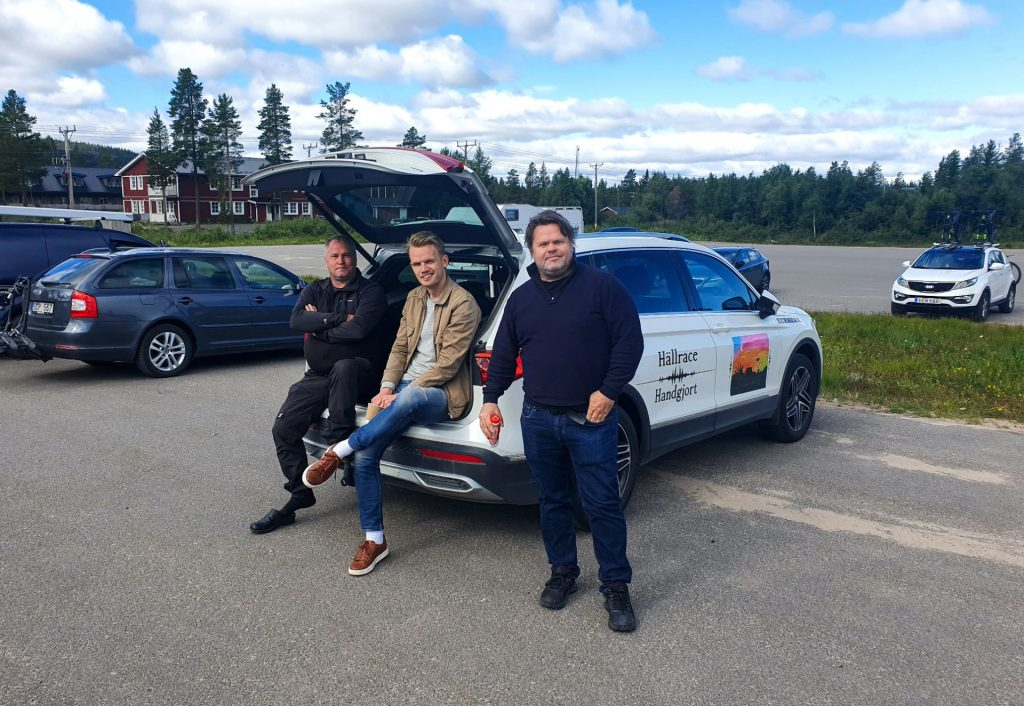 Bernt Andersson, Mattias Bångman och Bert-Ola Bergstrand.